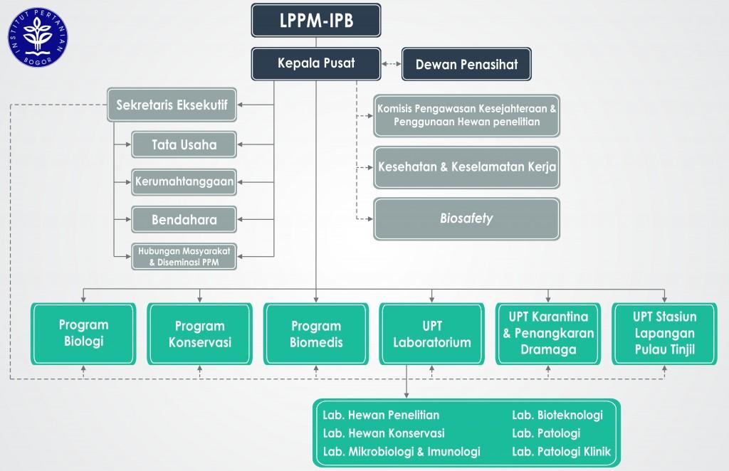 Struktur Organisasi Pusat Studi Satwa Primata LPPM-IPB
