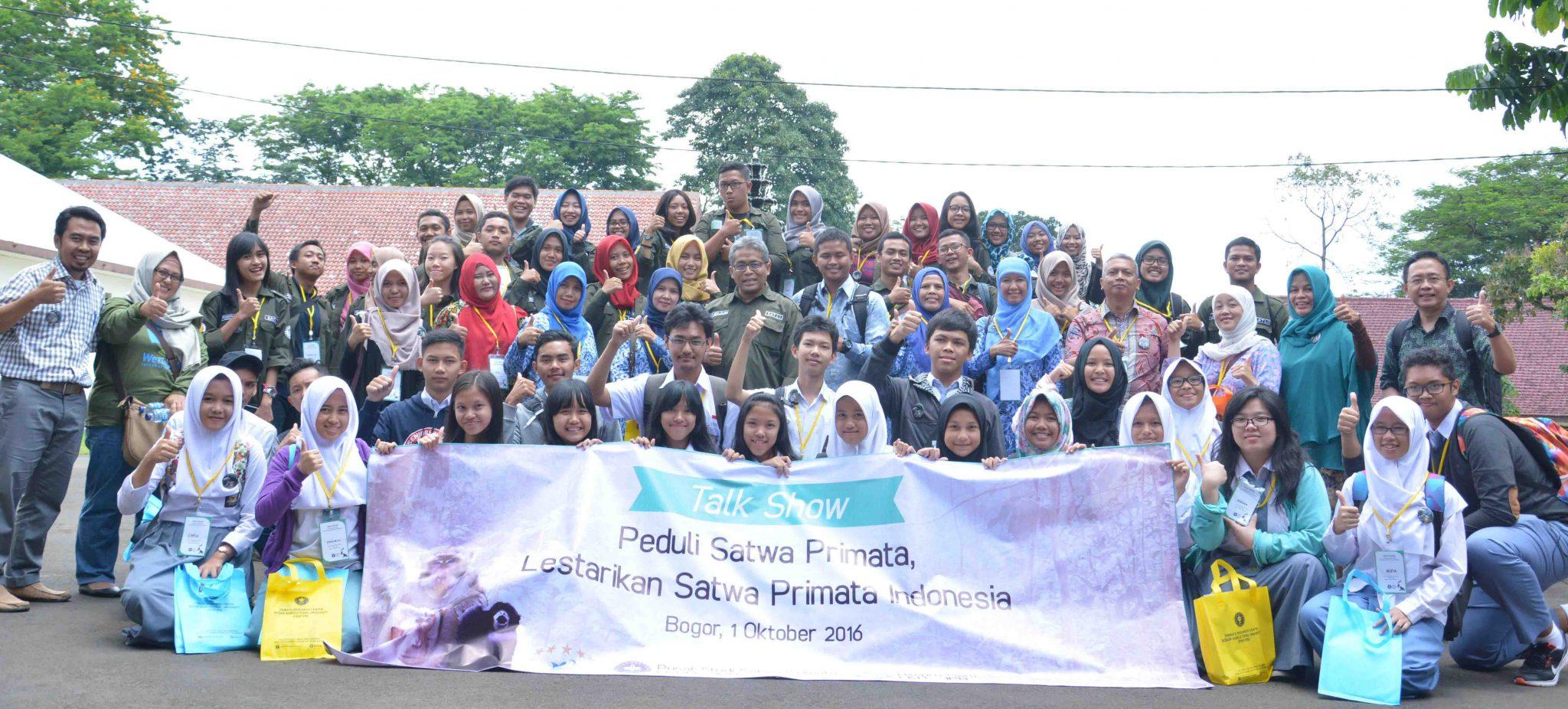 Foto Bersama Peserta, Pembicara dan Himpro Satwaliar FKH-IPB