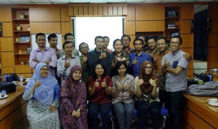Staf Konservasi PSSP mengikuti workshop Sistem Informasi Geografis
