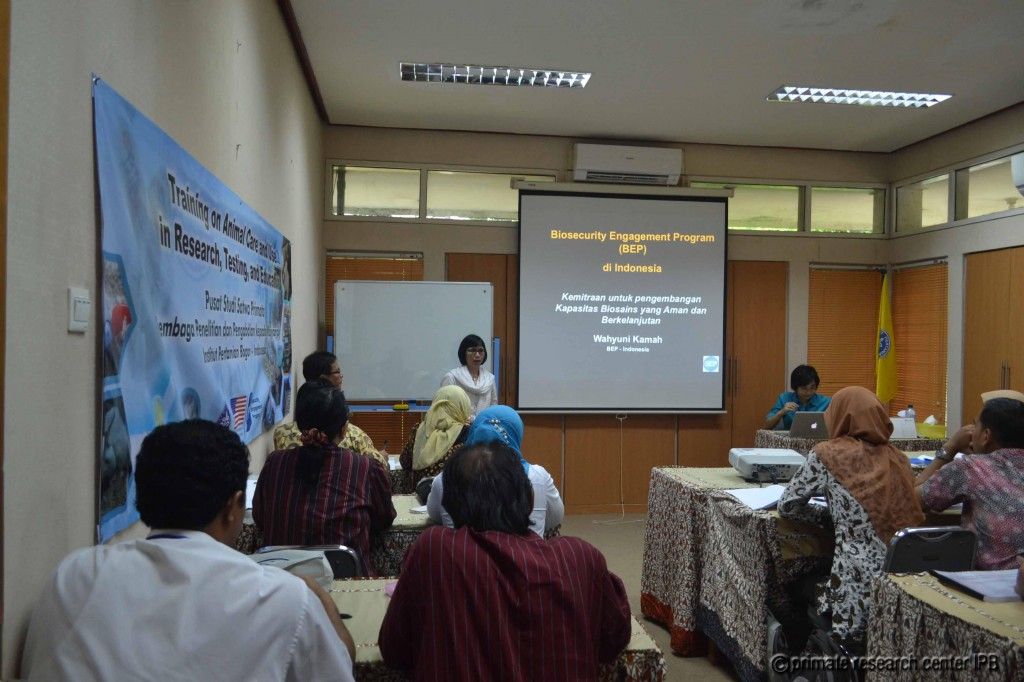 Contributor from Biosecurity Engagement Programme Indonesia