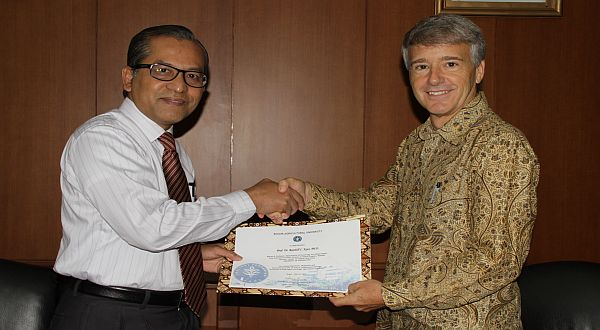 20th teliti Primata, IPB beri Randall Penghargaan