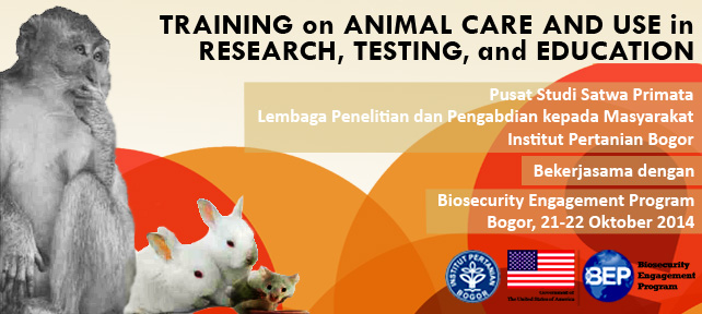 Training on Animal Care and Use in Research, Testing, and Education