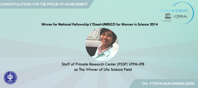 Penghargaan dari L'Oreal-UNESCO For Women in Science 2014