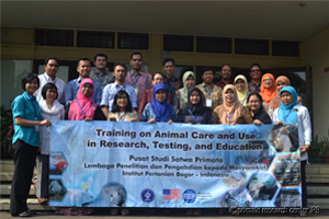 Contributor, Staff, and Participants Training on Animal Care and use in Research, Testing, and Education