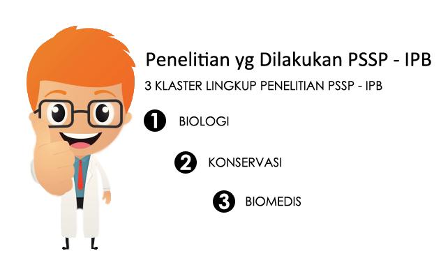 Penelitian apa saja yg bisa dilakukan di PSSP - IPB?