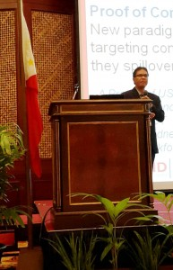 "Dr. Pamungkas addressed a topic ""Integrating Animal and Public Health – Seamless Total Solution for a Safety World"" (http://www.a-pba.org/conference/speakers.html#Joko)"