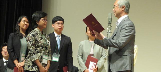 Peneliti PSSP Mendapatkan Penghargaan Internasional
