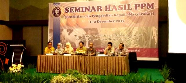 Seminar Hasil PPM 2015