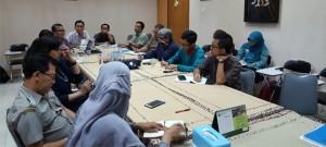 Diskusi Draf Pedoman Penyusunan Proposal Rancangan Kegiatan PUI