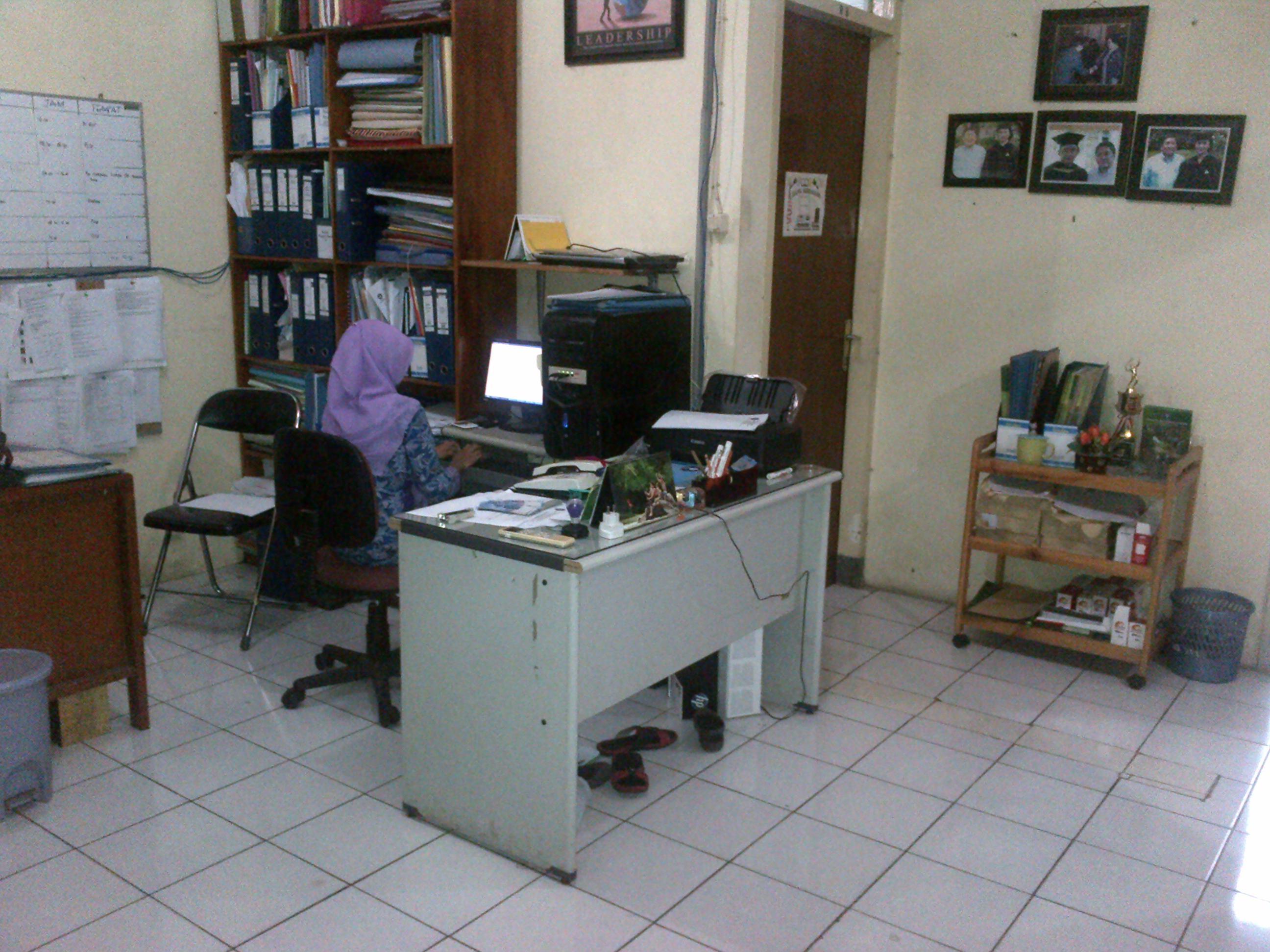 Kondisi Ruang Pelayanan Administrasi PSSP