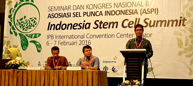 Seminar dan Kongres Nasional II Asosiasi Sel Punca Indonesia (ASPI)