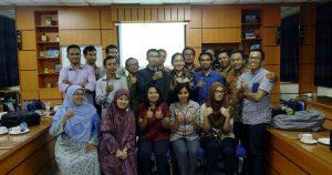 Peserta Workshop Sistem Informasi Geografis ArcGIS Platform Technical Workshop