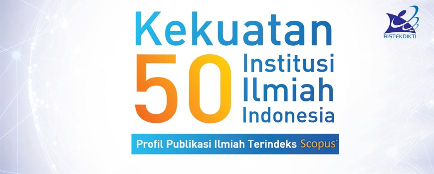 The Most Productive Writer in the Strength of 50 Indonesian Scientific Institutions