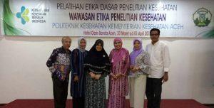 Fasilitator Pelatihan Etika Dasar Penelitian Kesehatan