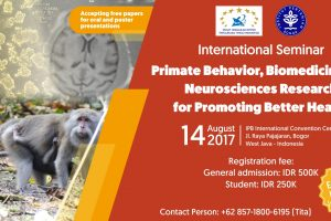 International Seminar_Primate Behavior Biomedicine and Neurosciences Research for Promoting Better Health