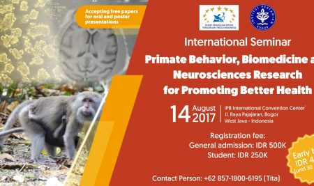 International Seminar: Primate Behavior, Biomedicine and Neurosciences Research