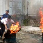 Pelatihan Menanggulangi Kebakaran