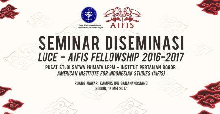 Seminar Diseminasi Luce – AIFIS Fellowship