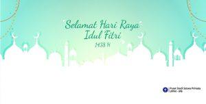 Selamat Hari Raya Idul Fitri 1438H