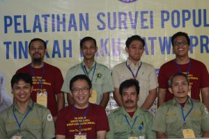 Foto Bersama Instruktur, Asisten Instruktur dan Peserta Pelatihan