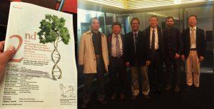 Dr drh Joko Pamungkas, MSc bersama dengan pembicara diajang Kyoto International Symposium
