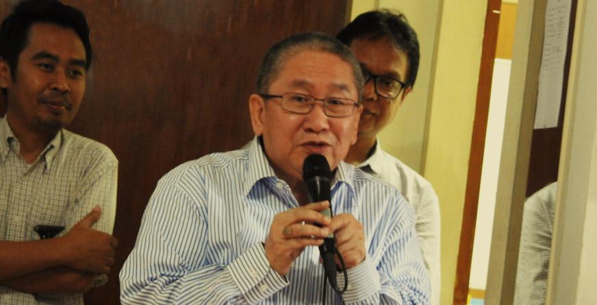 Sambutan dari Dondin Sajuthi (Dewan Pembina PSSP)