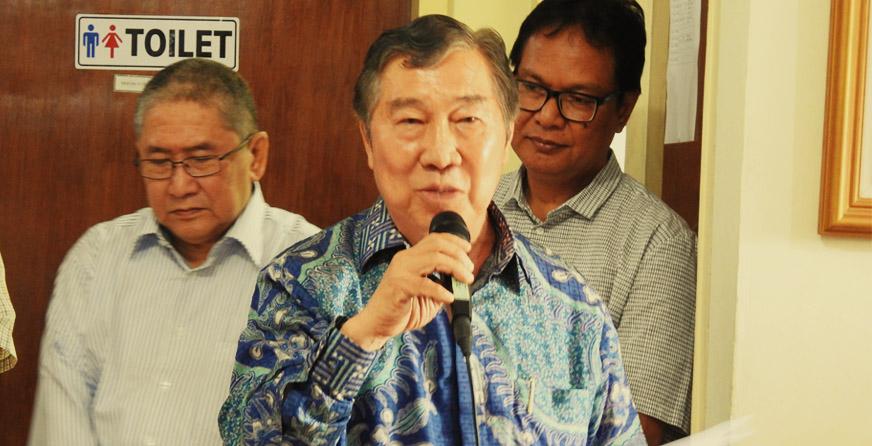 Sambutan dari Jansen Manansang (Dewan Pembina PSSP)