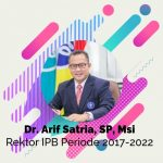 Selamat Rektor IPB Periode 2017-2022