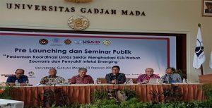 Dr drh Joko Pamungkas Menghadiri acara di UGM