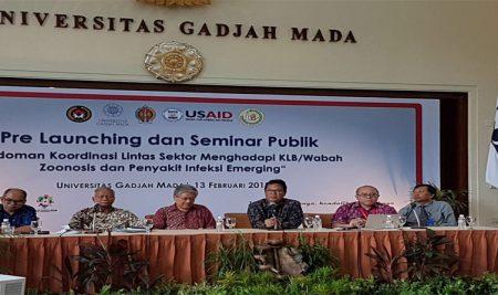 Dr drh Joko Pamungkas, MSc Menghadiri Acara di Universitas Gadjah Mada