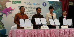 Perjanjian Kerjasama dengan Chulalongkorn University Thailand