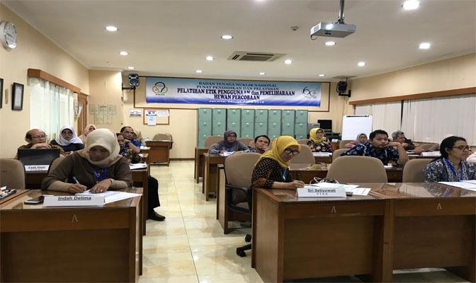 Peserta Pelatihan Etik di Badan Nuklir Nasional (BATAN)