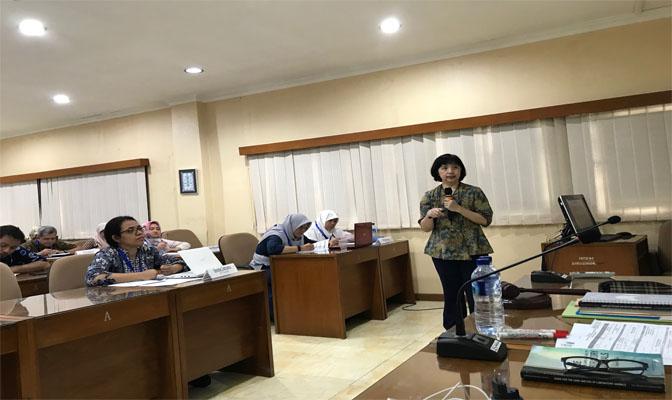 Drh Imelda L Winoto sebagai Narasumber Pelatihan etik di Badan Nuklir Nasional (BATAN)