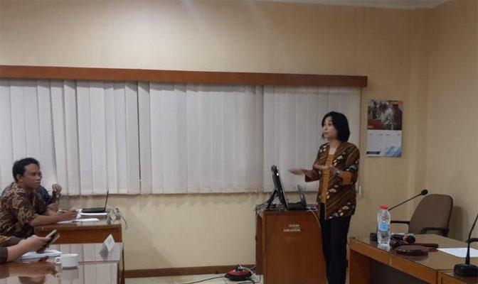 drh Fitriya Nur Annisa Dewi, PhD sebagai Narasumber Pelatihan Etik di Badan Nuklir Nasional (BATAN)