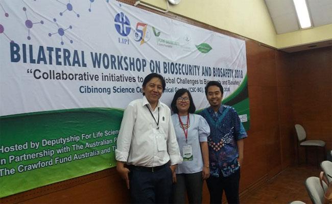 Bilateral Workshop On Biosecurity and Biosafety 208 di LIPI