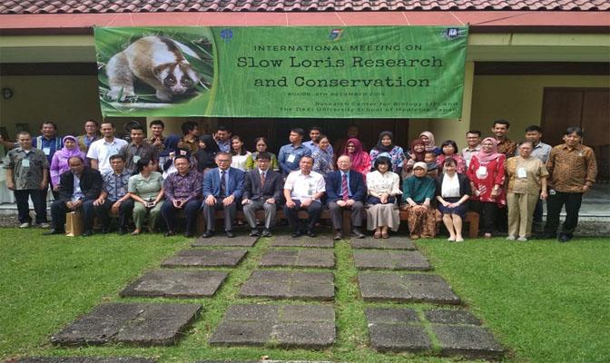 Internasional Meeting tentang Slow-Loris di LIPI