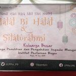Halal Bi Halal & Big Family Gathering of LPPM-IPB