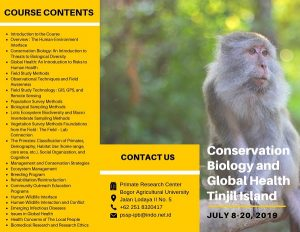 Conservation Biology and Global Health Tinjil Island