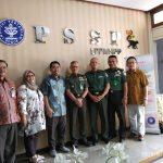 PSSP Menerima Kunjungan dari Pusat Kesehatan TNI Angakatan Darat