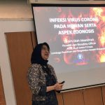 Staf Peneliti PSSP Dr drh Diah Iskandriati menjadi Narasumber pada Acara Infeksi Virus Corona pada Hewan dan Aspek Zoonosis