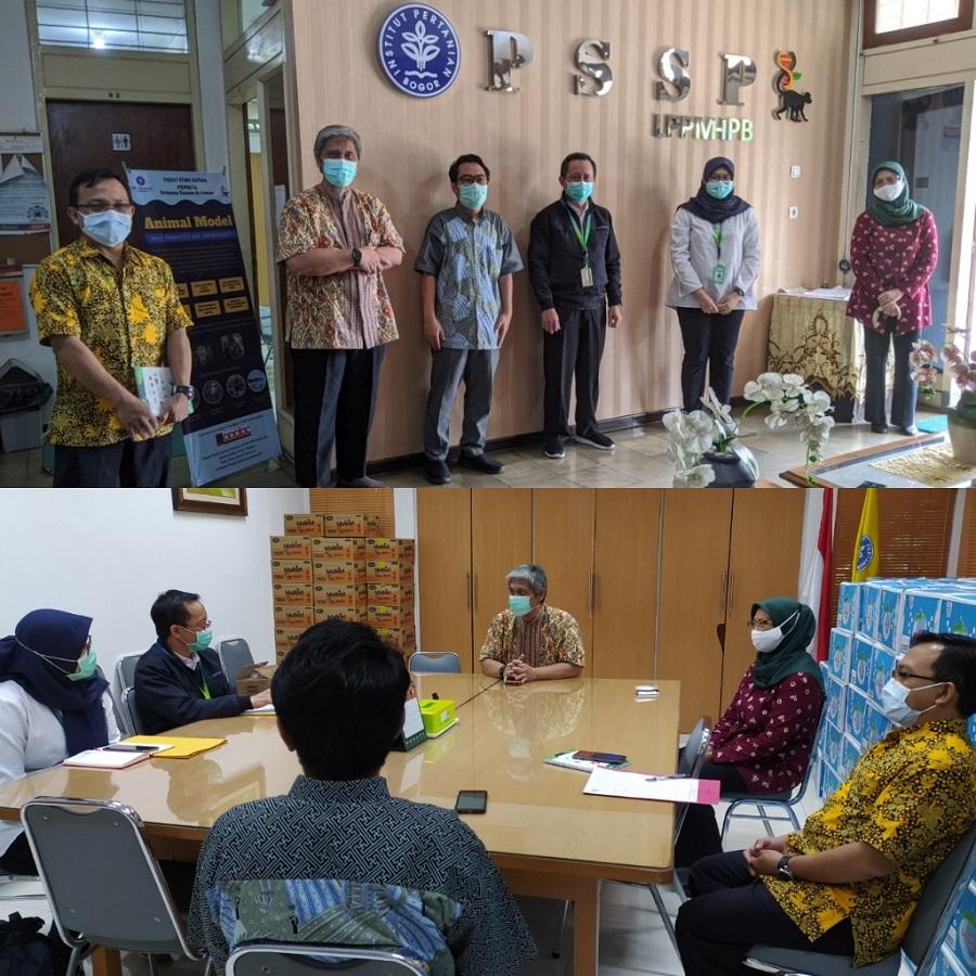 Tim Lakseda Jabar Berkunjung ke PSSP IPB