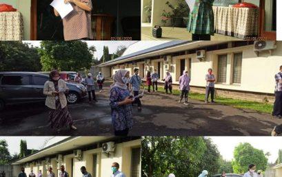 Halal bi Halal dan Sosialisasi Prosedur Kerja Pegawai PSSP IPB