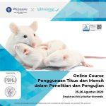 Online Course Penggunann Tikus dan Mencit dalam Penelitian dan Pengujian
