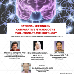 National Meeting on Comparative Psychology and Evolutionary Anthropology Registration