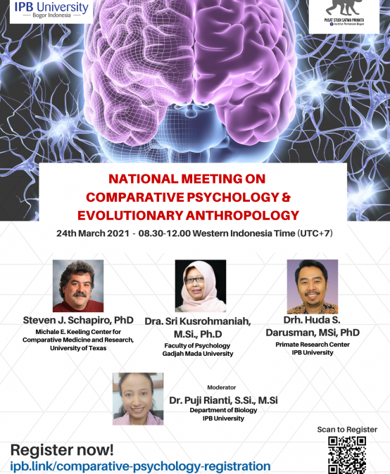 National Meeting on Comparative Psychology and Evolutionary Anthropology