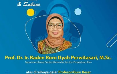 Kepala Program Biokonservasi PSSP LPPM-IPB Raih Gelar Profesor