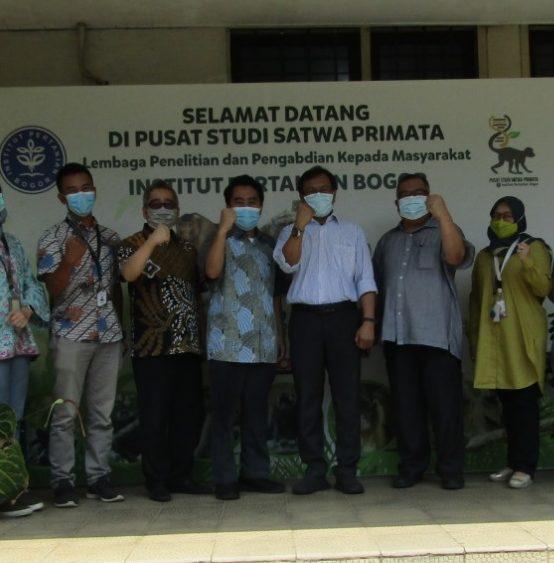 Persiapan Uji Pre-Klinis Vaksin Merah Putih Platform Universitas Airlangga di PSSP LPPM IPB