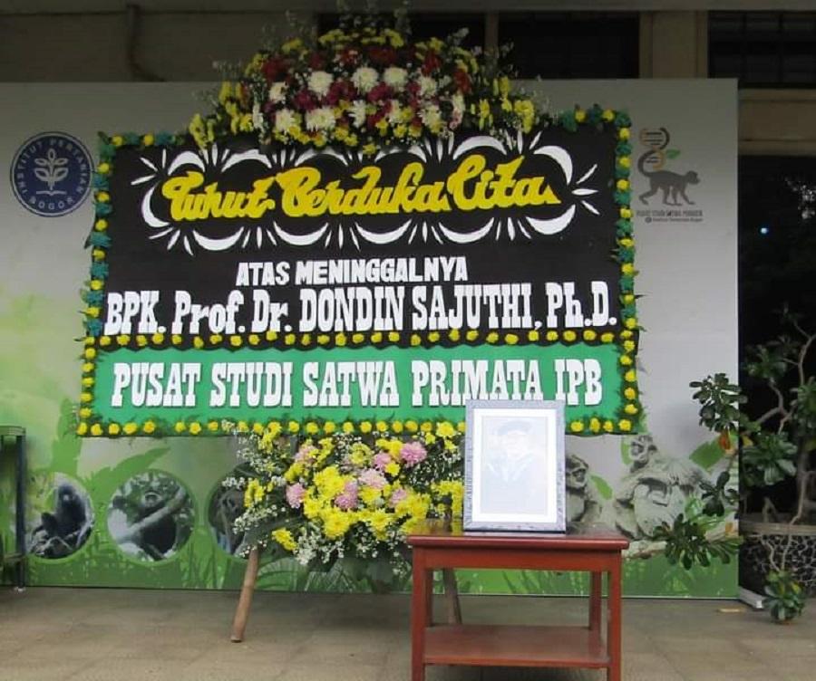 Mengenang dan Berdoa untuk Kepergian Prof.drh. Dondin Sajuthi, MST, PhD
